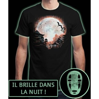 "T-Shirt ""Thermal Moon"" (brille dans la nuit)"