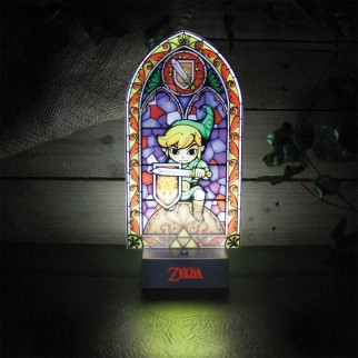 Lampe vitrail The Legend of Zelda