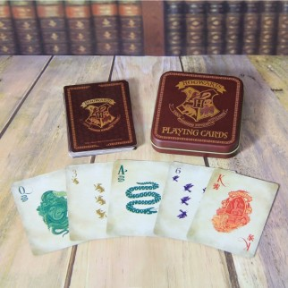 Jeu de cartes Poudlard - Harry Potter