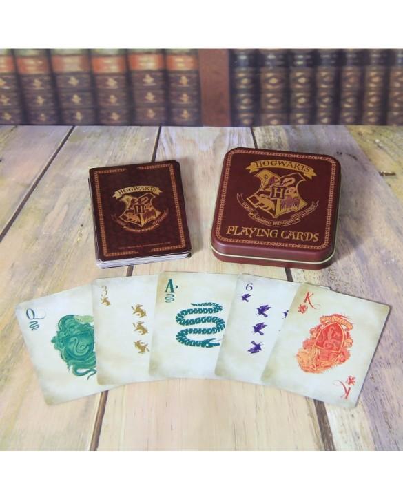 Jeu de cartes Poudlard - Harry Potter