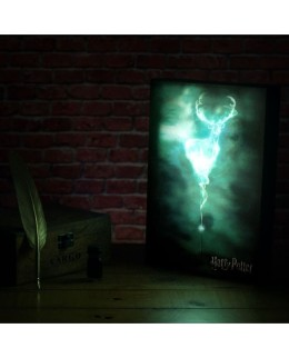 Tableau lumineux Harry Potter Patronus