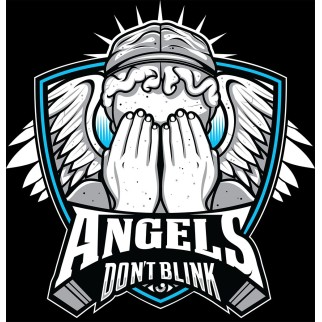 "T-Shirt ""Angels don't blink"""