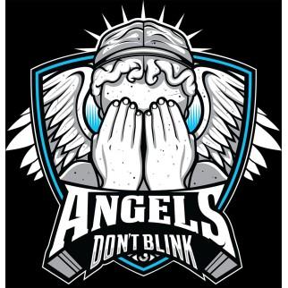 "T-Shirt ""Angels don't blink"""