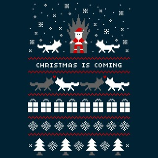 "T-Shirt ""Christmas is coming"""