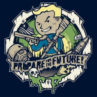 "T-Shirt ""Prepare for the future"""