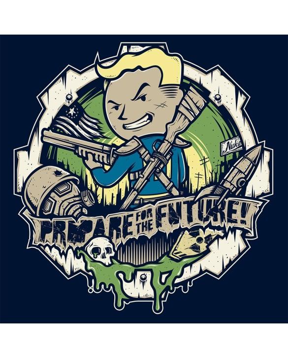 """T-Shirt """"prepare for the future"""""""