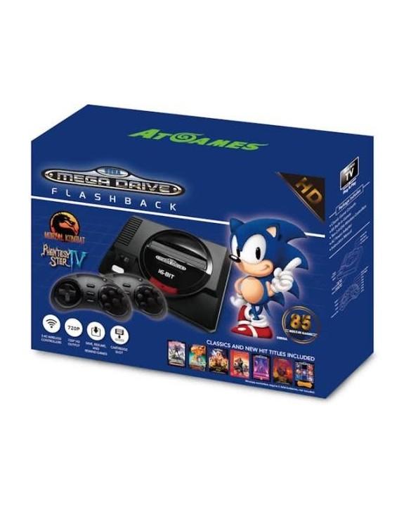 Mini Megadrive HD + 85 jeux + 2 manettes sans fil