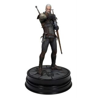 Figurine The Witcher III Geralt de Riv + 2 posters OFFERTS