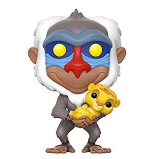 Figurine Funko Pop Rafiki avec Simba - Le Roi Lion N°301