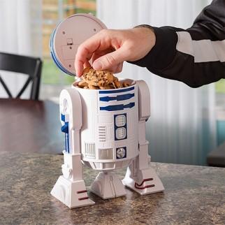 Boite de rangement sonore Star Wars R2-D2 de 28 cm