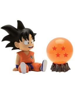 Pack figurine tirelire Goku + Boule de cristal Dragon Ball