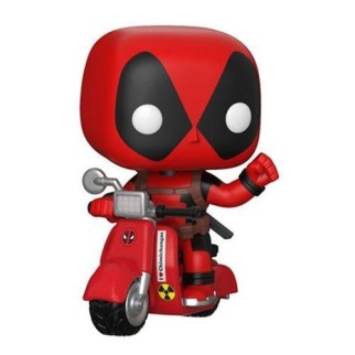 Figurine Pop Deadpool & Scooter