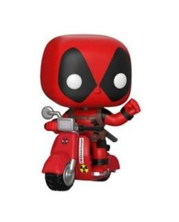 Figurine Funko Pop Deadpool & Scooter N°48