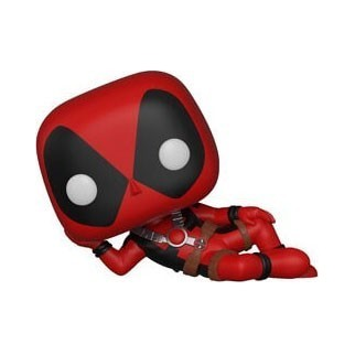 Figurine Funko Pop Deadpool allongé N°320