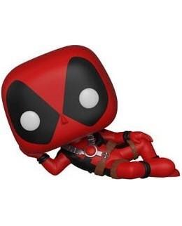 Figurine Pop Deadpool allongé