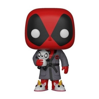 Figurine Pop Deadpool en peignoir