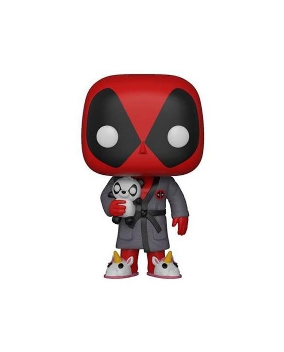 Figurine Pop Deadpool en peignoir