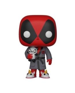 Figurine Funko Pop Deadpool en peignoir N°327