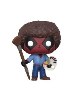 Figurine Funko Pop Deadpool en Bob Ross N°319