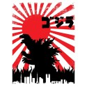 "T-Shirt ""Godzilla Japon"""