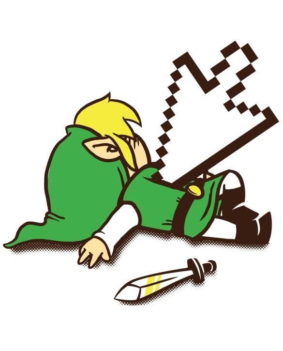 """T-Shirt """"Link Dead"""""""