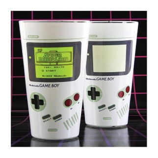 Verre Game Boy thermoréactif