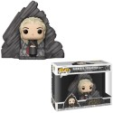 "Figurine Pop Game of Thrones ""Daenerys sur le trône de Peyredragon"""