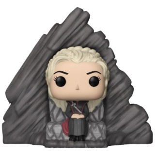 "Figurine Pop Game of Thrones XL ""Daenerys sur le trône de Peyredragon"""