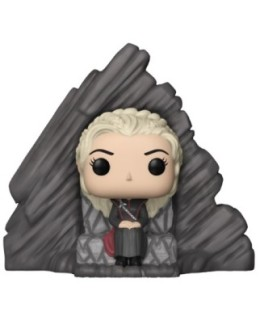 "Figurine Pop Game of Thrones ""Daenerys sur le trône de Peyredragon"""