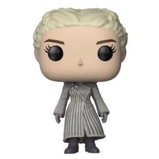 "Figurine Pop Game of Thrones ""Daenerys en manteau blanc"""