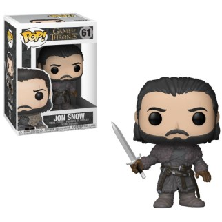 "Figurine Pop Game of Thrones ""Jon Snow au-delà du mur"""