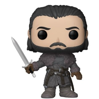 Figurine Funko Pop Jon Snow au-delà du mur - Games Of Thrones N°61
