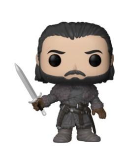 Figurine Funko Pop Jon Snow au-delà du mur - Games Of Thrones N°61