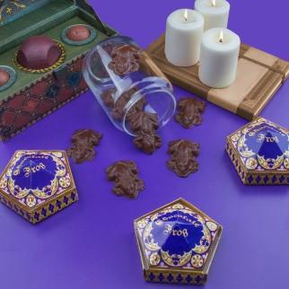 Moules et boîtes Chocogrenouille Harry Potter