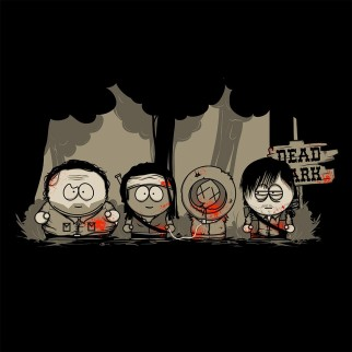 """T-Shirt """"dead park"""""""