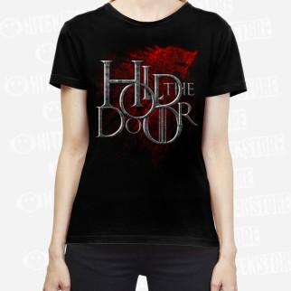 """T-Shirt """"Hold the door"""" (brillant dans le noir)"""