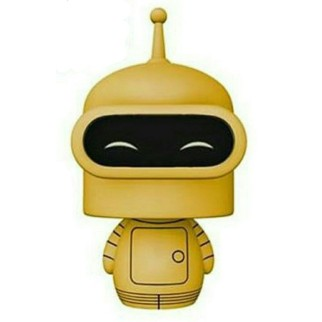"Figurine Dorbz Futurama ""Bender"" (Limited Chase Edition)"