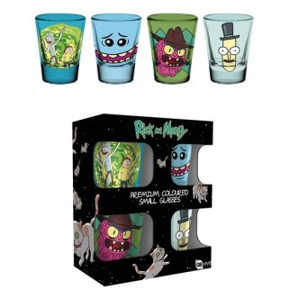 Verres à shot Rick & Morty premium