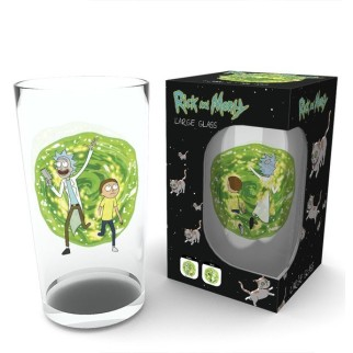 Verre Rick & Morty portail