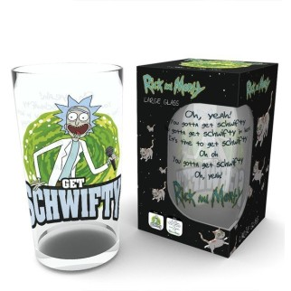 "Verre Rick & Morty ""Get Schwifty"""