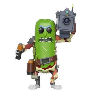 Figurine Funko Pop Pickle Rick avec laser - Rick & Morty N°332