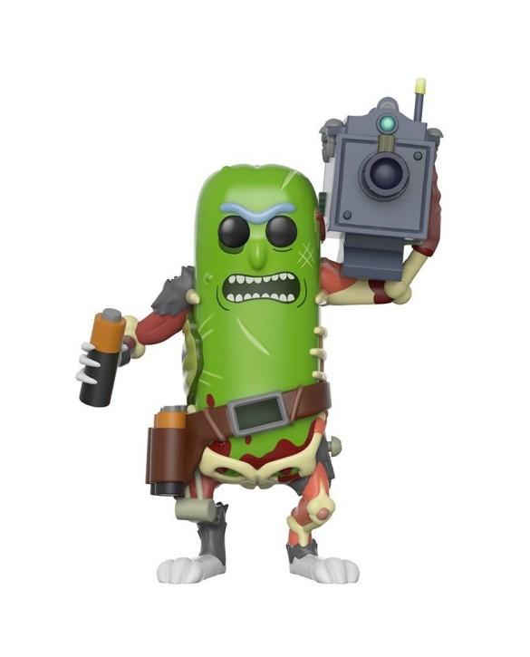 Figurine Pop Pickle Rick avec laser - Rick & Morty
