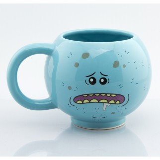 "Mug 3D Rick & Morty ""Mr Larbin / Meeseeks"""