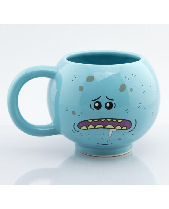 "Mug 3D Rick & Morty ""Mr Larbin / Meeseeks"""
