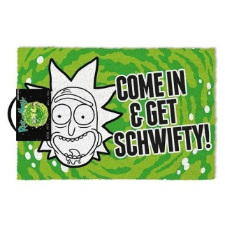"Paillasson Rick & Morty ""Get Schwifty"""