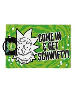 """Paillasson Rick & Morty """"Get Schwifty"""""""