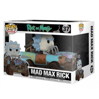 Figurine Pop Ride Mad Max - Rick & Morty