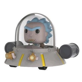 Figurine Funko Pop XL Ride Rick dans son vaisseau N°34