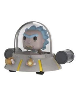 Figurine Pop Ride Rick dans son vaisseau