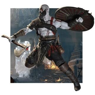 Figurine Kratos de God of War (édition 2018)